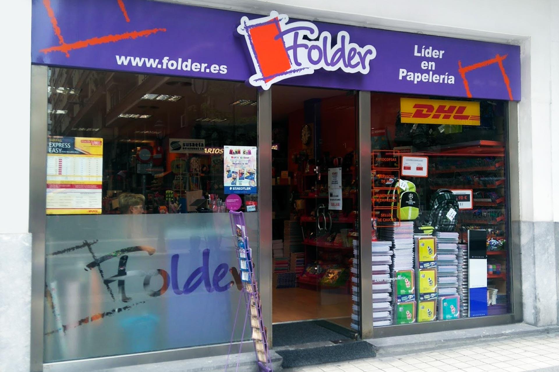 Folder Bilbao